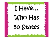 I Have.. Who Has 50 States