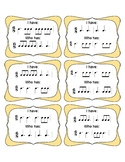 I Have Who Has 6/8 Rhythms (Set 2)