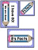 I Have Who Has? 8 Multiplication Facts