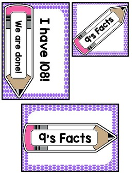 I Have, Who Has? 9 Multiplication Facts