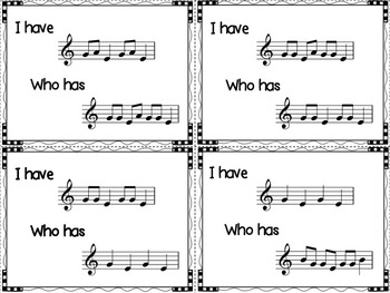 Music: I Have, Who Has?  A BAG-E Game for the Recorder