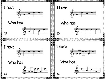 I Have, Who Has?  A D'C'BAG Game for the Recorder