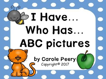 I Have Who Has ABC Pictures