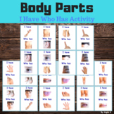 Body Parts Activity - I Have Who Has Game
