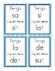 I Have, Who Has Activity Syllables with m, p, s, d, and l (sílabas con m, p, l)