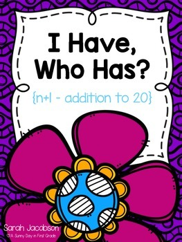 I Have, Who Has: Adding 1 (n+1)