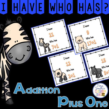 I Have, Who Has? Addition Facts - Plus One