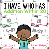 I Have, Who Has: Addition Within 20