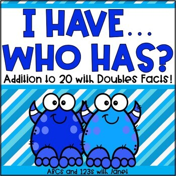 I Have, Who Has {Addition to 20}
