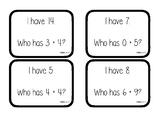 I Have..., Who Has...? - Addition to 30 Maths Game