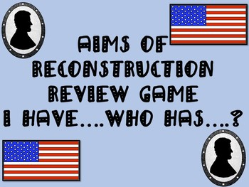 Aims of Reconstruction Review Game