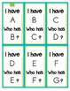I Have - Who Has | Alphabet Game (Capital, Lower case, Beginning Sounds)