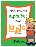 I Have... Who Has? Alphabet Recognition