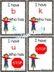 I Have, Who Has? ~ Alphabet Letters ~ Fall Fun