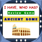 I Have, Who Has Ancient Rome Review Game