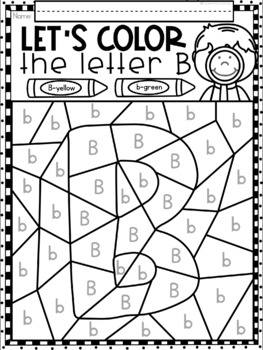 Alphabet Letters Search and Color Printables
