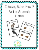 I Have, Who Has Arctic Animal Game