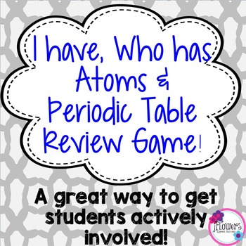 I Have, Who Has? Atoms and Periodic Table Review Game