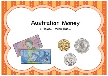 I Have.. Who Has: Australian Money