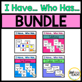 I Have, Who Has, Math BUNDLE  (Numbers, Subitizing, Colors