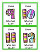 I Have Who Has - BUNDLE Addition, Subtraction Pre-Primer Sight Words