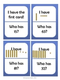 I Have, Who Has: Base 10 Blocks (Ones and Tens)