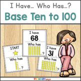 Base Ten to 100: I Have... Who Has...? (A Place Value Game)
