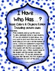 I Have...Who Has? - Basic Colors & Objects