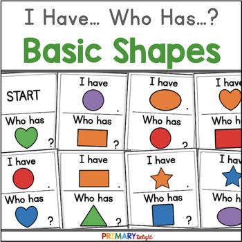 Basic Shapes: I Have... Who Has...?