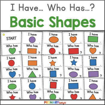 I Have... Who Has... Shapes? {A 2D Shape Game}