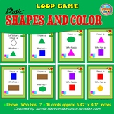 Basic Shapes and Color Loop Game