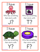 I Have, Who Has? - Beginning Sounds