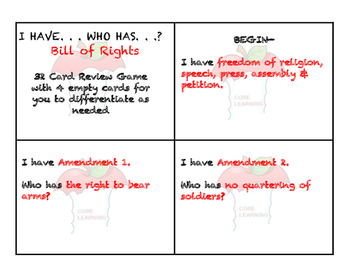 Constitution: Bill of Rights