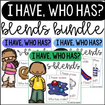 I Have, Who Has Blends Bundle
