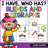 I Have Who Has Blends and Digraphs | Word Game