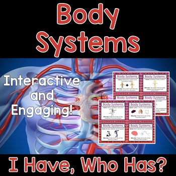 Body Systems Activity - I Have, Who Has?