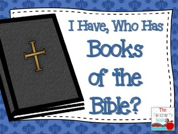 I Have Who Has Books of the Bible?