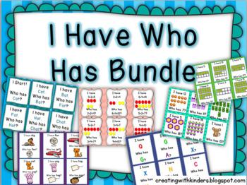 I Have Who Has Bundle
