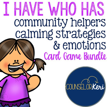 I Have, Who Has... Bundle: Community Helpers, Calming Stra