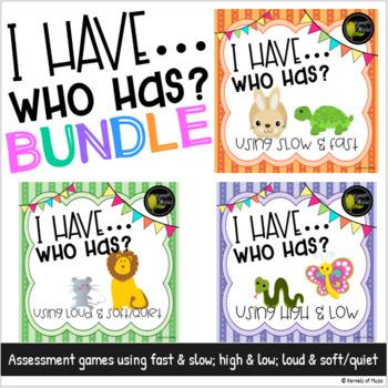 I Have Who Has? Bundled Set-Pastel
