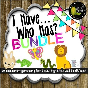 I Have, Who Has? Bundled Set-Rustic Modern
