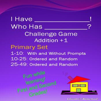 I Have.....Who Has?    CHALLENGE!