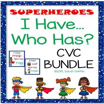I Have Who Has CVC Bundle