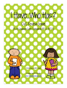 I Have, Who Has?  CVC Review