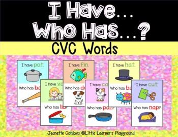 I Have...Who Has...? CVC Words