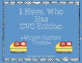 I Have Who Has CVC Words - Winter Olympic Theme