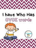 I Have Who Has CVCE Words
