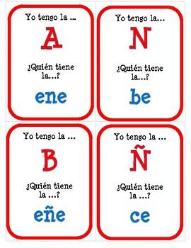 El alfabeto - Question Chain Game