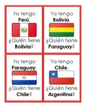 Los 21 países hispanohablantes - Question Chain Game