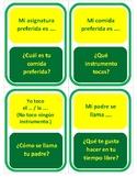 Mi personalidad - Beginner Version - Question Chain Game